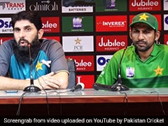 Watch: Misbah Snaps At Journalist After T20I Series Whitewash