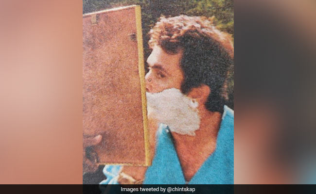 When Rishi Kapoor Got 'Rid Of' His Beard On The Sets Of Henna. See Throwback Pic