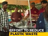 Video : To Fight Plastic Waste, Gurugram Woman Starts A 'Steel Crockery Bank'