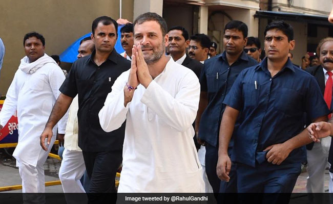 'Time For Brotherhood, Trust Among All': Rahul Gandhi On Ayodhya Verdict