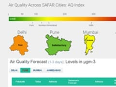 """Air Quality In Delhi Continues To Be """"Poor"""", """"Moderate"""" In Mumbai"""