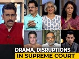 Video : Hearings End Amid Drama In Century-Old Ayodhya Dispute