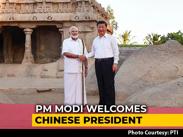 Video : PM Modi-Xi's Bonhomie On Display In Mamallapuram