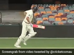 Watch: Ball Goes For A Boundary But Batsman Keeps On Running In Sheffield Shield Game