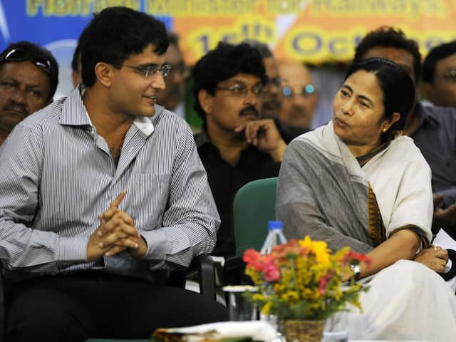 "Sourav Ganguly Congratulated By CM Mamata Banerjee On Being ""Unanimously Elected BCCI President"""