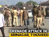 Video : 7 Injured, 3 Critical In Grenade Attack By Terrorists In Srinagar