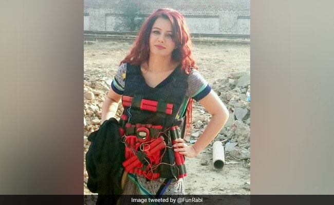 'National Dress': Pak Singer Rabi Pirzada Trolled For Threatening PM Modi In Suicide Bomber Vest