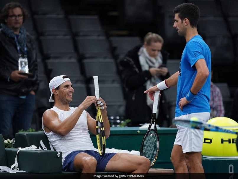 "Novak Djokovic Enjoys ""Fun"" Rafael Nadal Practice Session Ahead Of No.1 Battle"