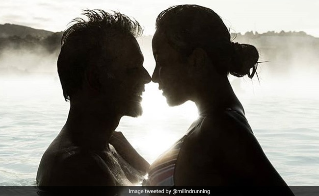 Milind Soman And Ankita's Blue Lagoon Adventure Is Going Viral. See Pic