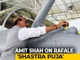 "Video : After Congress Calls Rafale '<i>Shastra Puja</i>' ""<i>Tamasha</i>"", BJP's Bofors Retort"