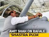 "Video: After Congress Calls Rafale '<i>Shastra Puja</i>' ""<i>Tamasha</i>"", BJP's Bofors Retort"