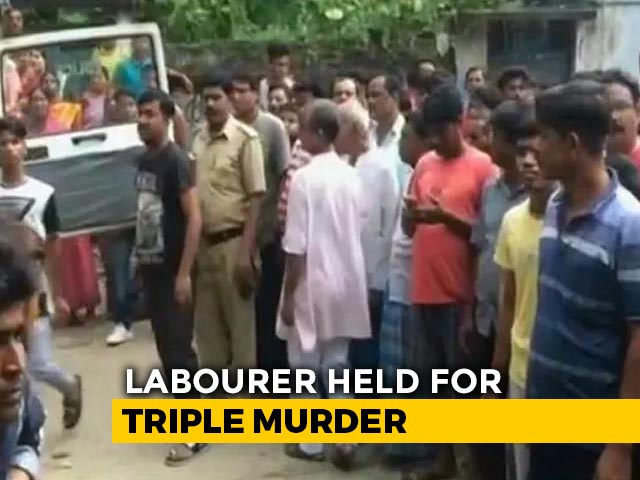 Video : Money Dispute Behind Murshidabad Triple Murder, Accused Arrested: Cops