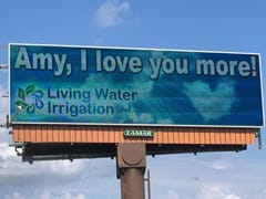 Why A US Man Put Up Billboards Proclaiming His Love For His Wife