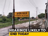 Video : Daily Hearings In Ayodhya Case May End Today, The 40th Day