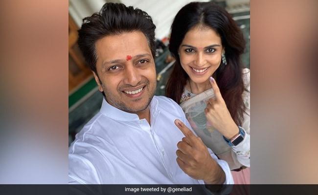 Maharashtra Election 2019: Genelia D'Souza, Madhuri Dixit, Sachin Tendulkar Step Out To Vote