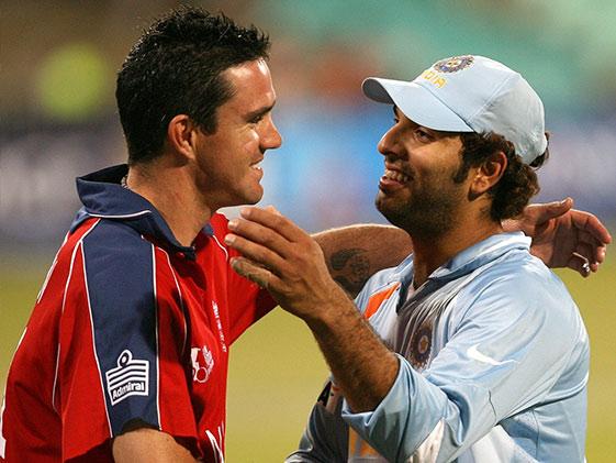 ट्विटर पर युवराज सिंह और केविन पीटरसन के बीच हुई नोकझोंक, यह है वजह ..