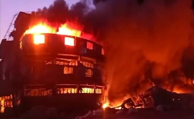 Fire At Plastic Factory In Gujarat's Kutch, No Casualty Reported