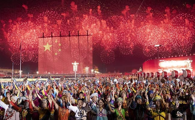 Robots, Deliverymen And 'Xi Thought' At China's 70th Anniversary