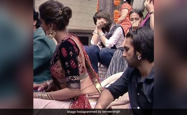 Ranveer Singh Had His Eyes On Deepika Padukone Since 2013; '7 Years On, Nothing Has Changed,' She Comments