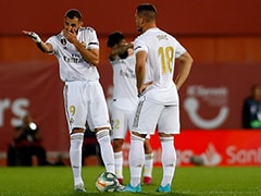 Real Madrid Lose To Mallorca, Barcelona Go Top Of La Liga