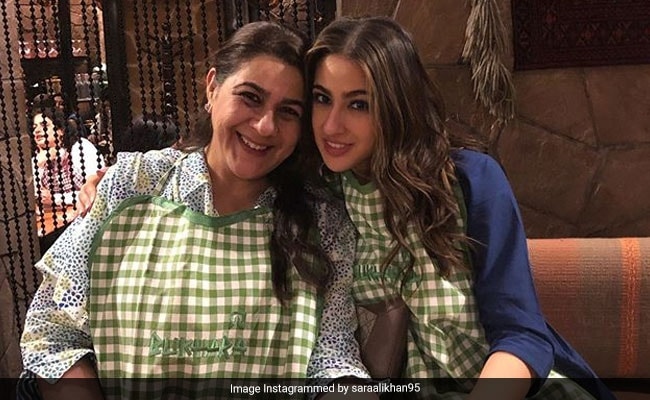 Sara Ali Khan Tucks Into Cheat Meal With Mom Amrita Singh. See What They Ate