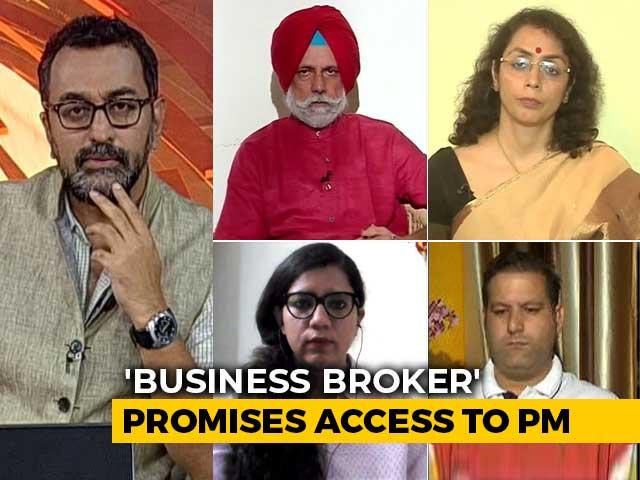 Video : 'Mystery' Businesswoman Behind Jammu And Kashmir Visit?