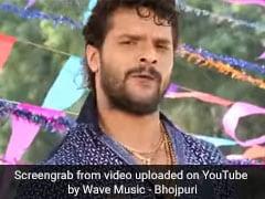 खेसारी लाल यादव के छठ गीत ने मचाई धूम, यूपी-बिहार में सबकी जुबां पर चढ़ा गाना- देखें Video