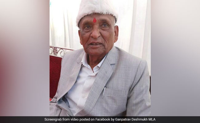 Maharashtra Assembly Elections 2019: At 93, Sangole MLA, Who First Won Election In 1962, Retires