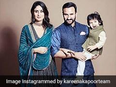 करीना कपूर और सैफ अली खान के साथ तैमूर ने यूं सेलिब्रेट की दिवाली, Photo हुईं वायरल