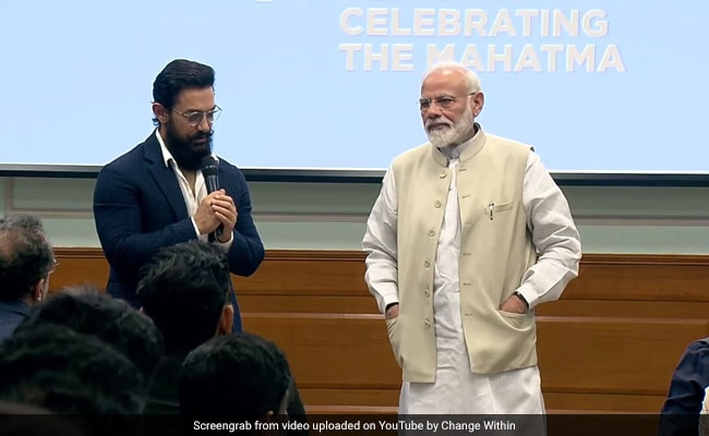 'Lots Of Behind The Scenes Stuff': BJP Tweets Video Of PM-Actors' Meet