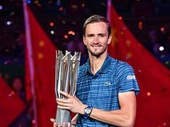 Daniil Medvedev Thrashes Alexander Zverev To Win Shanghai Masters