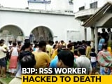 Video: Bengal Man, Pregnant Wife, 6-Year-Old Son Killed; Was In RSS, Says BJP