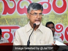 Attacked With Slippers By YSR Congress Workers, Says Chandrababu Naidu