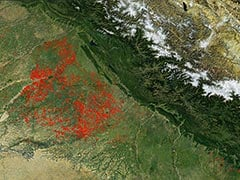 """""""NASA Images Show Spurt In Crop Burning In Punjab, Haryana"""": Delhi"""
