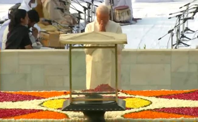Image result for pm modi gandhi jyanti