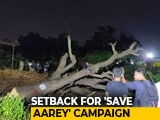 Video : Tree Cutting Begins At Mumbai's Aarey Colony, Activists Protest