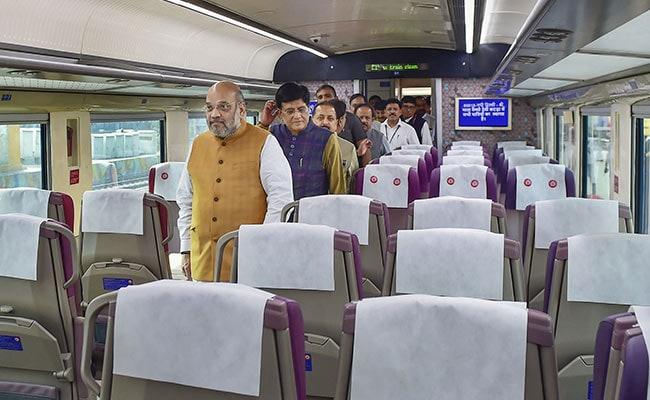 'Big Gift For J&K Development': Amit Shah Flags Off Vande Bharat Express