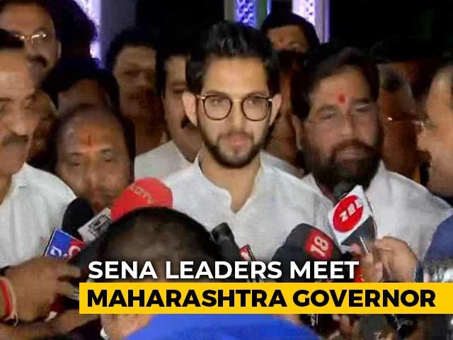 Video : Uddhav Thackeray's Word Final, Says Son Aaditya After Meeting Governor