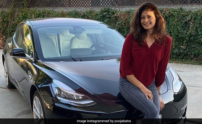 Pooja Batra Shares Pic Of Her New Tesla Model 3: 'Love My Car'
