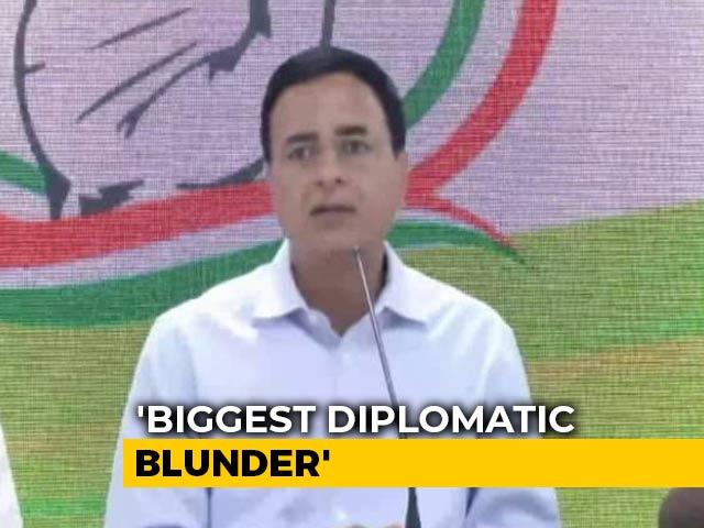 "Video : ""Diplomatic Blunder"": Congress On European MPs Visiting Jammu And Kashmir"