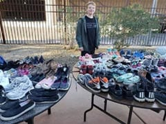 Why This Teen Collects Shoes To Give To People In Need