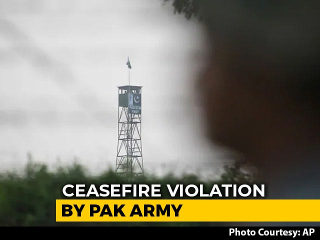 Video : Two Soldiers, Civilian Killed In Ceasefire Violation By Pak Troops In J&K
