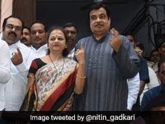 """Maharashtra Elections 2019: """"BJP-Sena To See Record-Breaking Win In Maharashtra"""": Nitin Gadkari"""