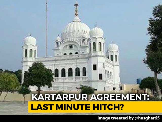 Video : Kartarpur Pact Between India, Pak Unlikely To Be Signed Tomorrow: Sources