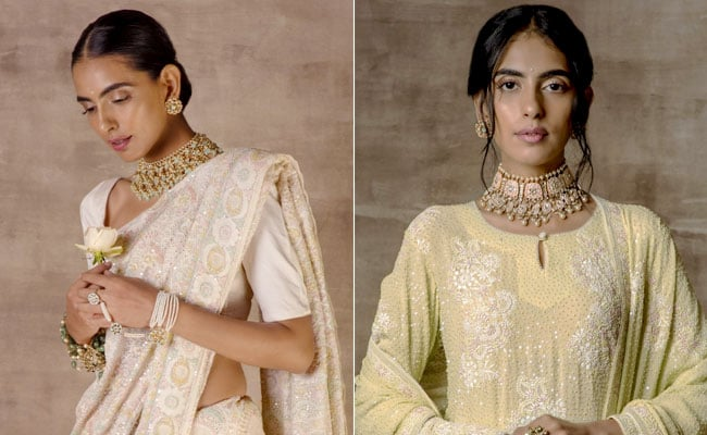 Fashion Experts On Why <i>Chikankari</i> Is A Festive Favourite For Diwali