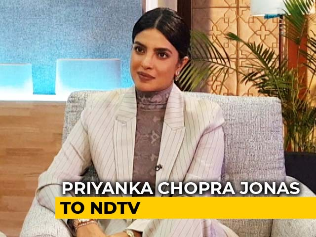 Video : I Want To Make Cinema That Moves You: Priyanka Chopra Jonas