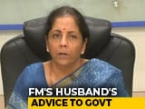 Video : How Finance Minister Reacted To Husband's Critique On Economy, And Advice