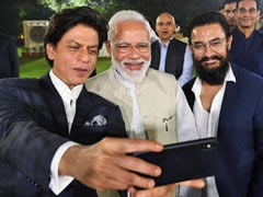 Aamir Khan, Shah Rukh Khan In Frame, PM Tweets Video After Meeting Film Stars