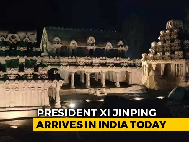 Video : PM-Xi Meet At Mamallapuram, Coastal Town With 7th Century China Link