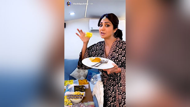 Not Sunday, But It's Shilpa Shetty's Gujarati Monday Binge That Is Making Us Drool This Time